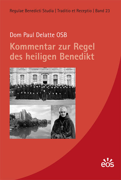 Kommentar zur Regel des heiligen Benedikt - Coverbild