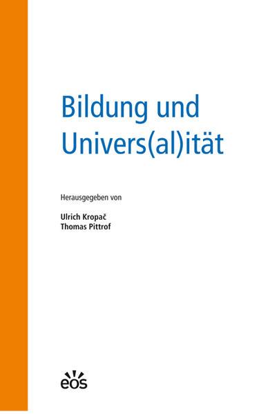 Bildung und Univers(al)ität - Coverbild