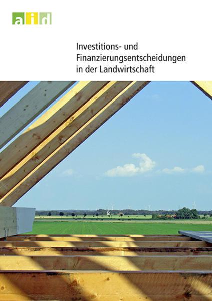 Investitions- und Finanzierungsentscheidungen in der Landwirtschaft - Coverbild