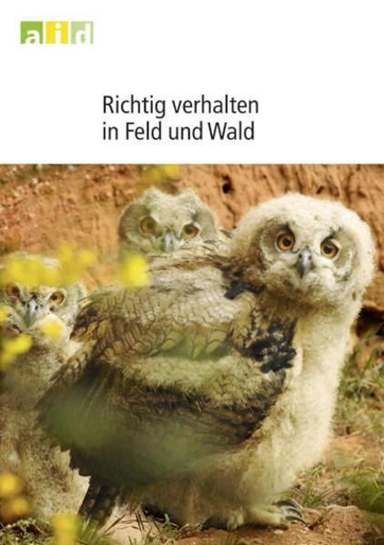 Richtig verhalten in Feld und Wald - Coverbild