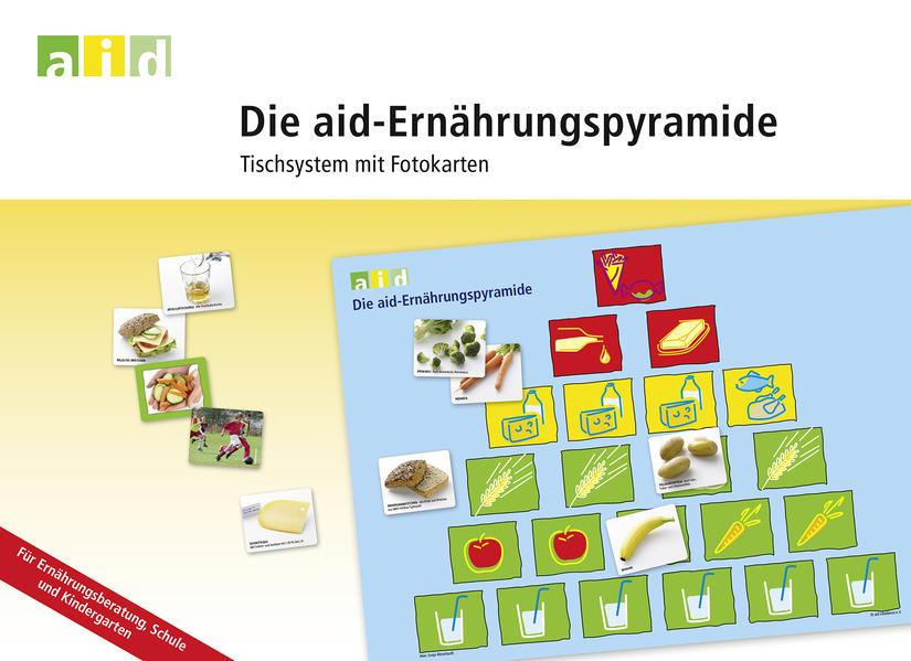 Die aid-Ernährungspyramide - Tischsystem mit Fotokarten - Coverbild