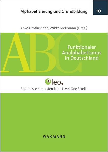 Funktionaler Analphabetismus in Deutschland - Coverbild