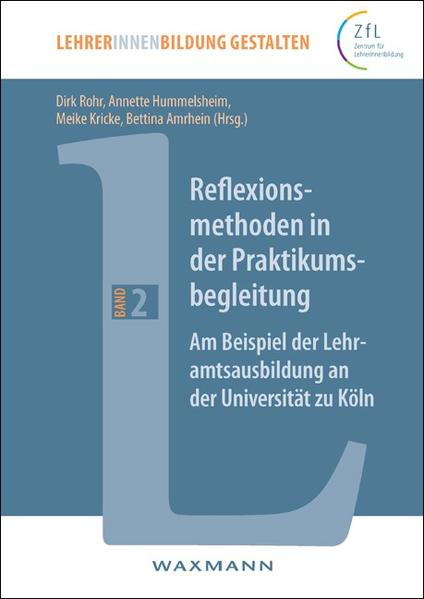 Reflexionsmethoden in der Praktikumsbegleitung - Coverbild