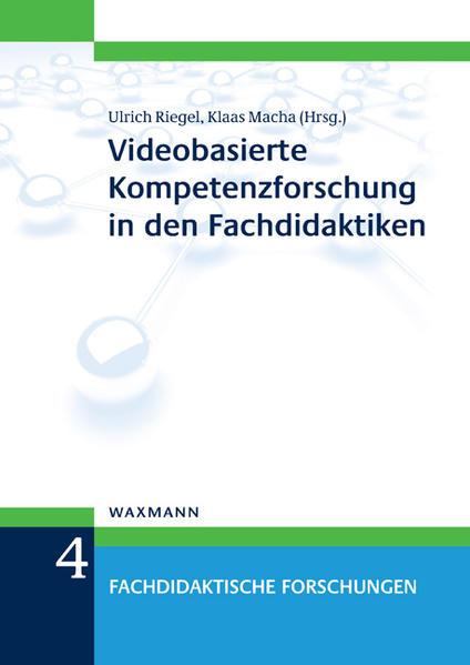 Videobasierte Kompetenzforschung in den Fachdidaktiken - Coverbild