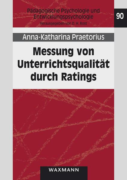 Free Epub Messung von Unterrichtsqualität durch Ratings