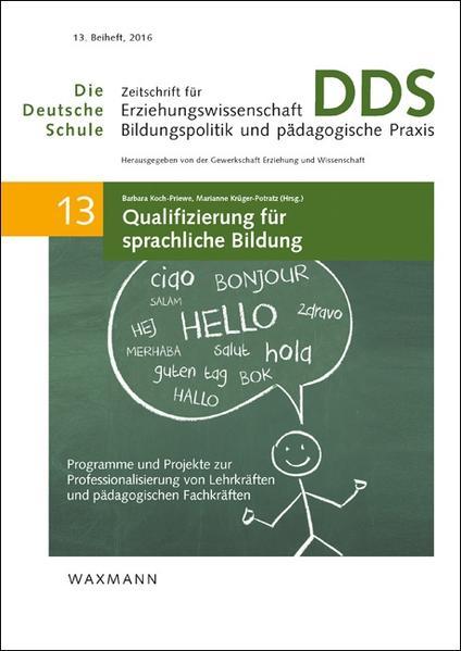 Qualifizierung für sprachliche Bildung - Coverbild