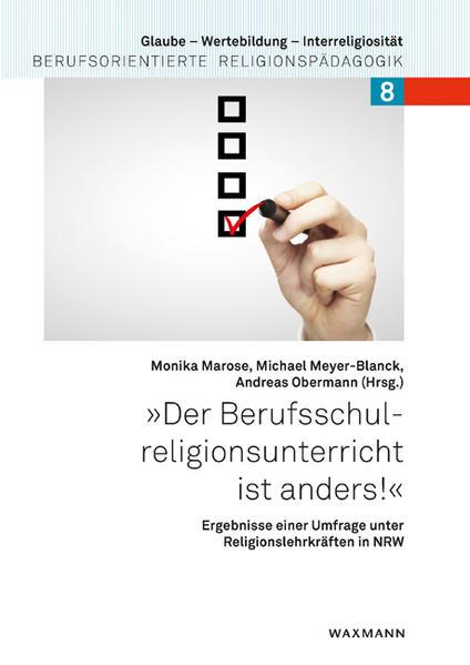 """""""Der Berufsschulreligionsunterricht ist anders!"""" - Coverbild"""