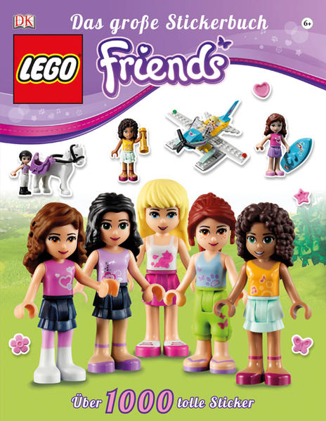 LEGO® Friends Das große Stickerbuch - Coverbild