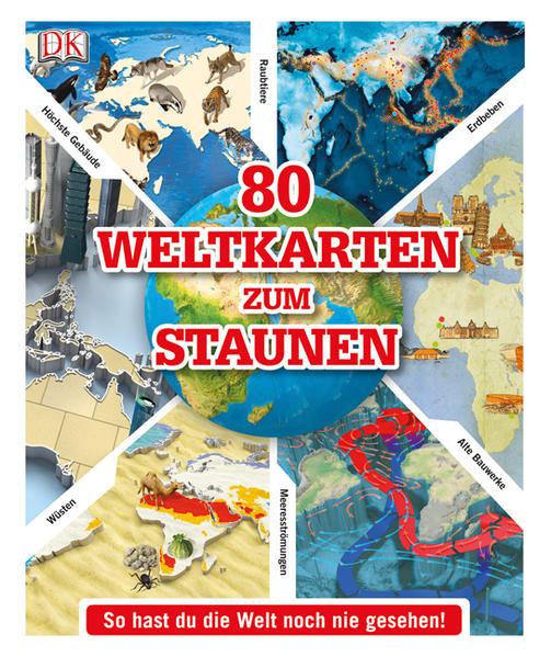 Ebooks 80 Weltkarten zum Staunen Epub Herunterladen