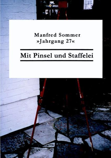 Mit Pinsel und Staffelei - Coverbild