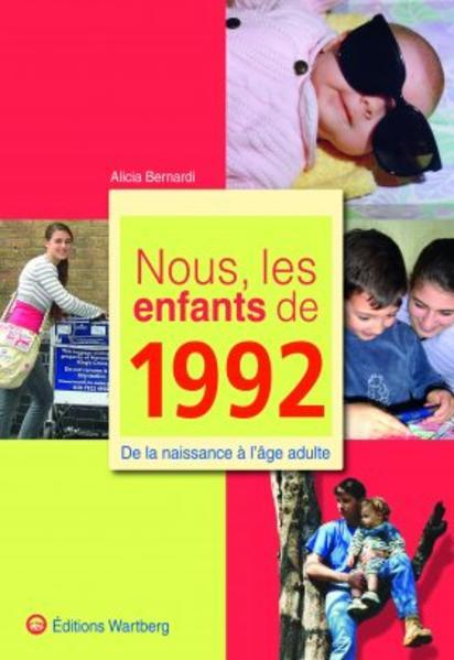 Nous, les enfants de 1992 - Coverbild