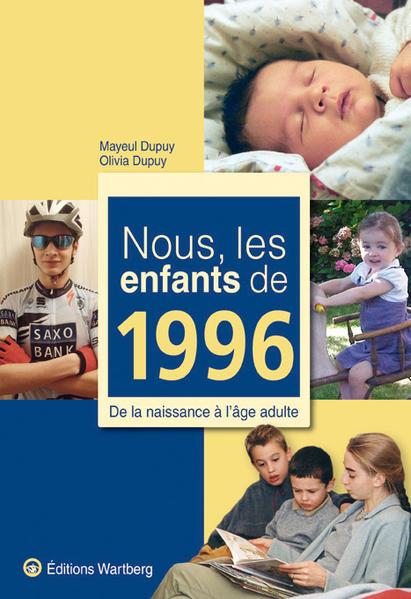 Nous, les enfants de 1996 - Coverbild