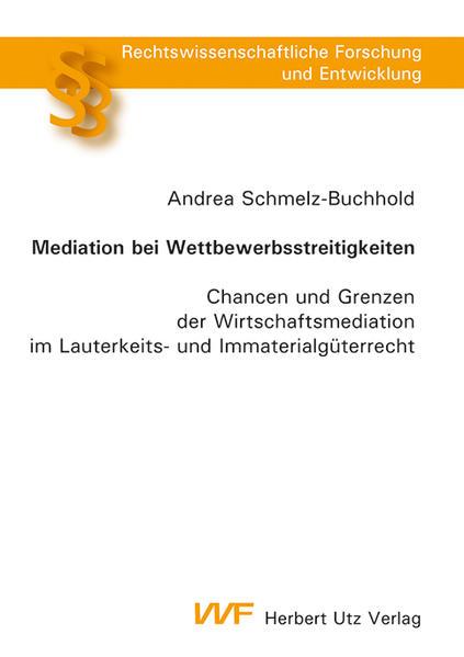 Mediation bei Wettbewerbsstreitigkeiten - Coverbild