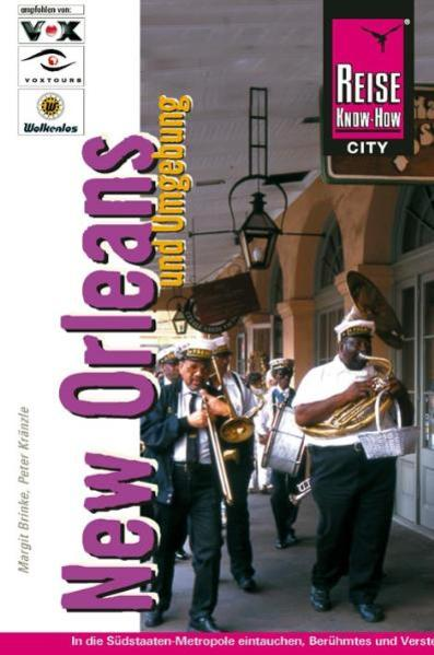 Reise Know-How CityGuide New Orleans und Umgebung - Coverbild