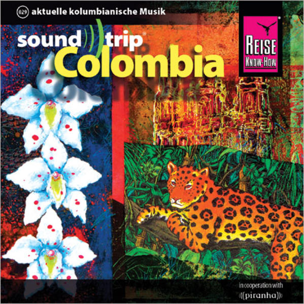 Reise Know-How SoundTrip Colombia - Coverbild