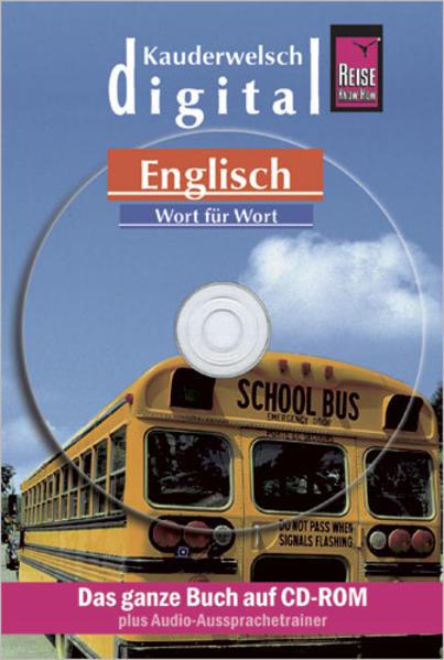 Reise Know-How Kauderwelsch DIGITAL Englisch - Wort für Wort (CD-ROM) - Coverbild