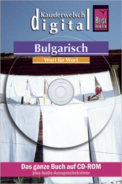Reise Know-How Kauderwelsch DIGITAL Bulgarisch - Wort für Wort (CD-ROM) - Coverbild