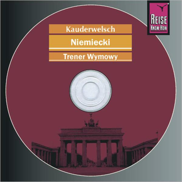 Kauderwelsch Trener wymowy Niemiecki - słowo w słowo - Coverbild