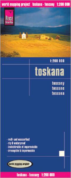 Reise Know-How Landkarte Toskana (1:200.000) - Coverbild