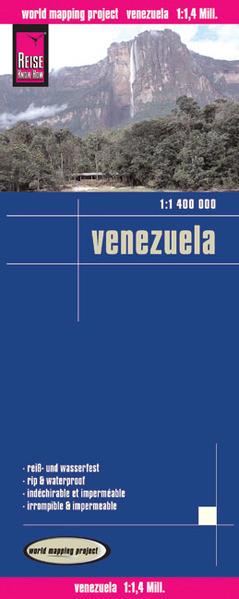 Reise Know-How Landkarte Venezuela (1:1.400.000) - Coverbild