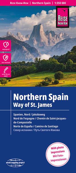 Free Epub Reise Know-How Landkarte Spanien Nord / Jakobsweg