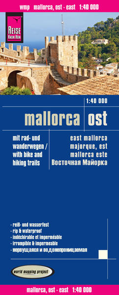 Reise Know-How Rad- und Wanderkarte Mallorca Ost (1:40.000) - Coverbild