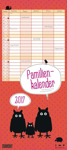 Viechereien Familienkalender 2017 - Coverbild