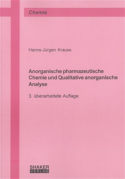 Anorganische pharmazeutische Chemie und Qualitative anorganische Analyse - Coverbild