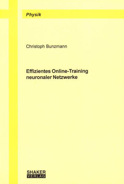 Effizientes Online-Training neuronaler Netzwerke - Coverbild