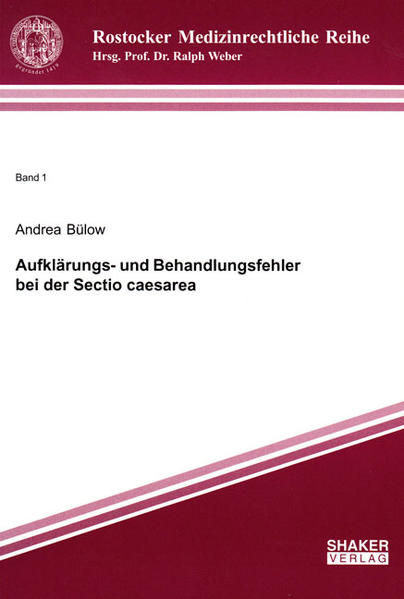 Aufklärungs- und Behandlungsfehler bei der Sectio caesarea - Coverbild