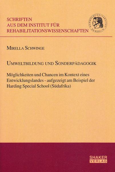 Umweltbildung und Sonderpädagogik - Coverbild