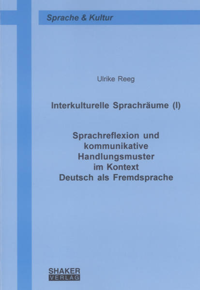 Interkulturelle Sprachräume (I) - Coverbild