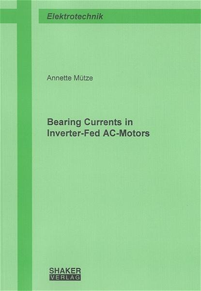 Bearing Currents in Inverter-Fed AC-Motors - Coverbild