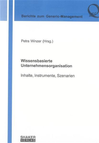 Wissensbasierte Unternehmensorganisation - Coverbild