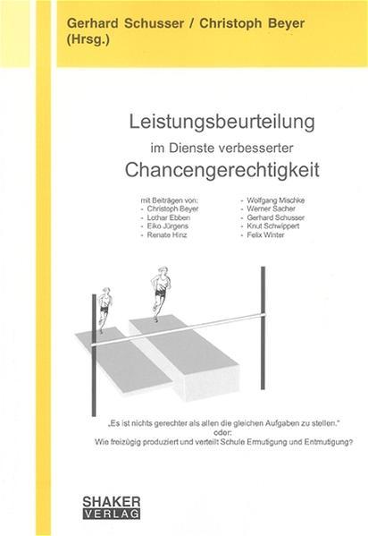 Leistungsbeurteilung im Dienste verbesserter Chancengerechtigkeit - Coverbild
