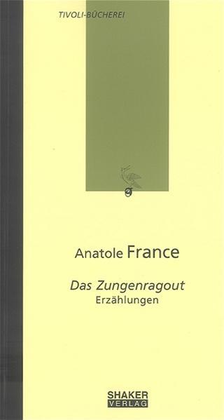 Das Zungenragout - Coverbild