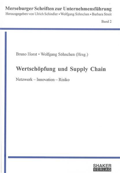 Wertschöpfung und Supply Chain - Coverbild