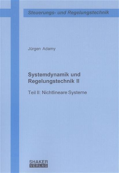 Systemdynamik und Regelungstechnik II - Coverbild