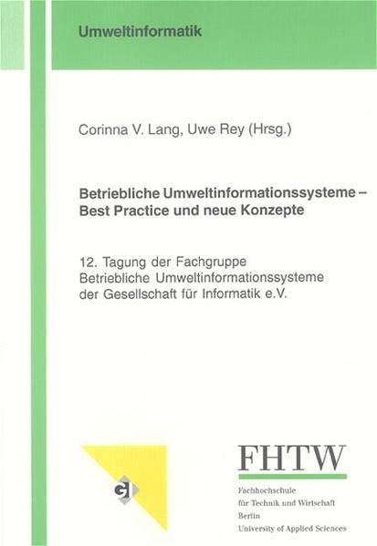 Betriebliche Umweltinformationssysteme – Best Practice und neue Konzepte - Coverbild