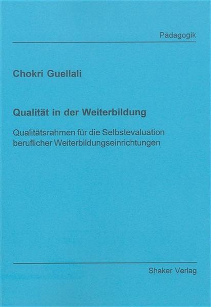 Qualität in der Weiterbildung - Coverbild