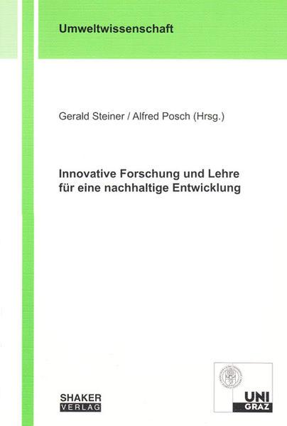 Innovative Forschung und Lehre für eine nachhaltige Entwicklung - Coverbild