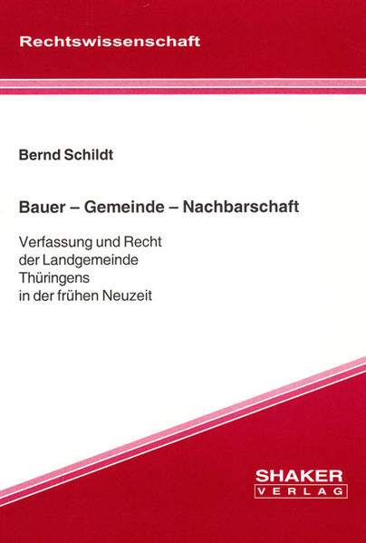 Bauer – Gemeinde – Nachbarschaft - Coverbild