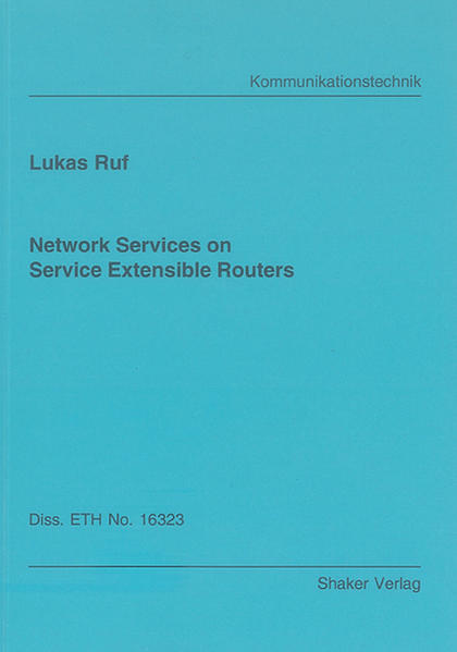 Network Services on Service Extensible Routers - Coverbild