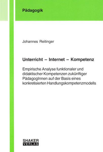 Unterricht – Internet – Kompetenz - Coverbild