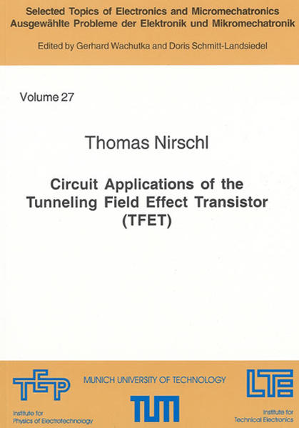 Circuit Applications of the Tunneling Field Effect Transistor (TFET) - Coverbild