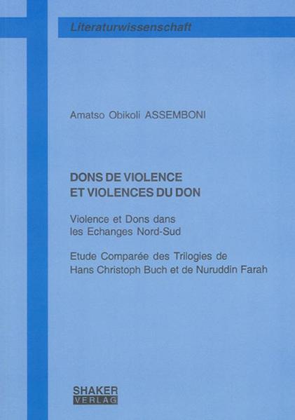 DONS DE VIOLENCE ET VIOLENCES DU DON - Coverbild