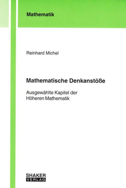 Mathematische Denkanstöße - Coverbild