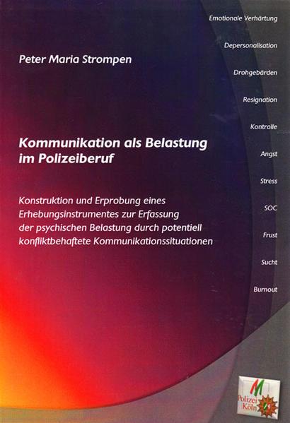 Kommunikation als Belastung im Polizeiberuf - Coverbild