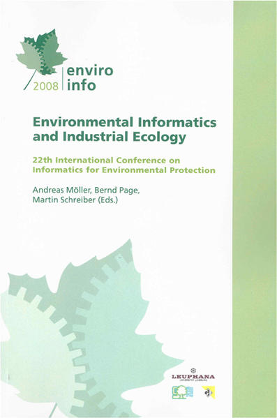 EnviroInfo 2008 - Coverbild
