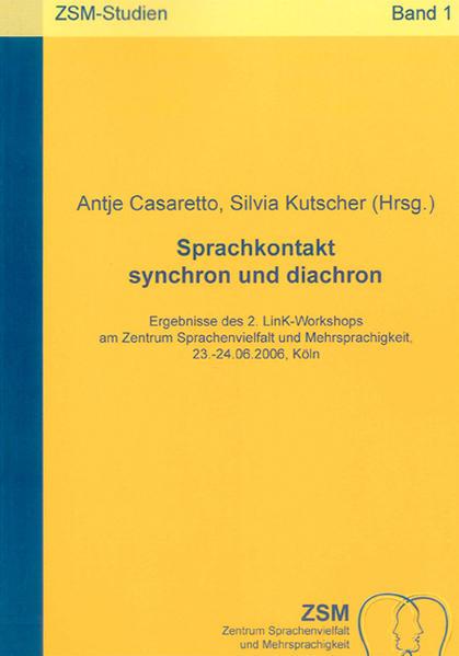 Sprachkontakt synchron und diachron - Coverbild